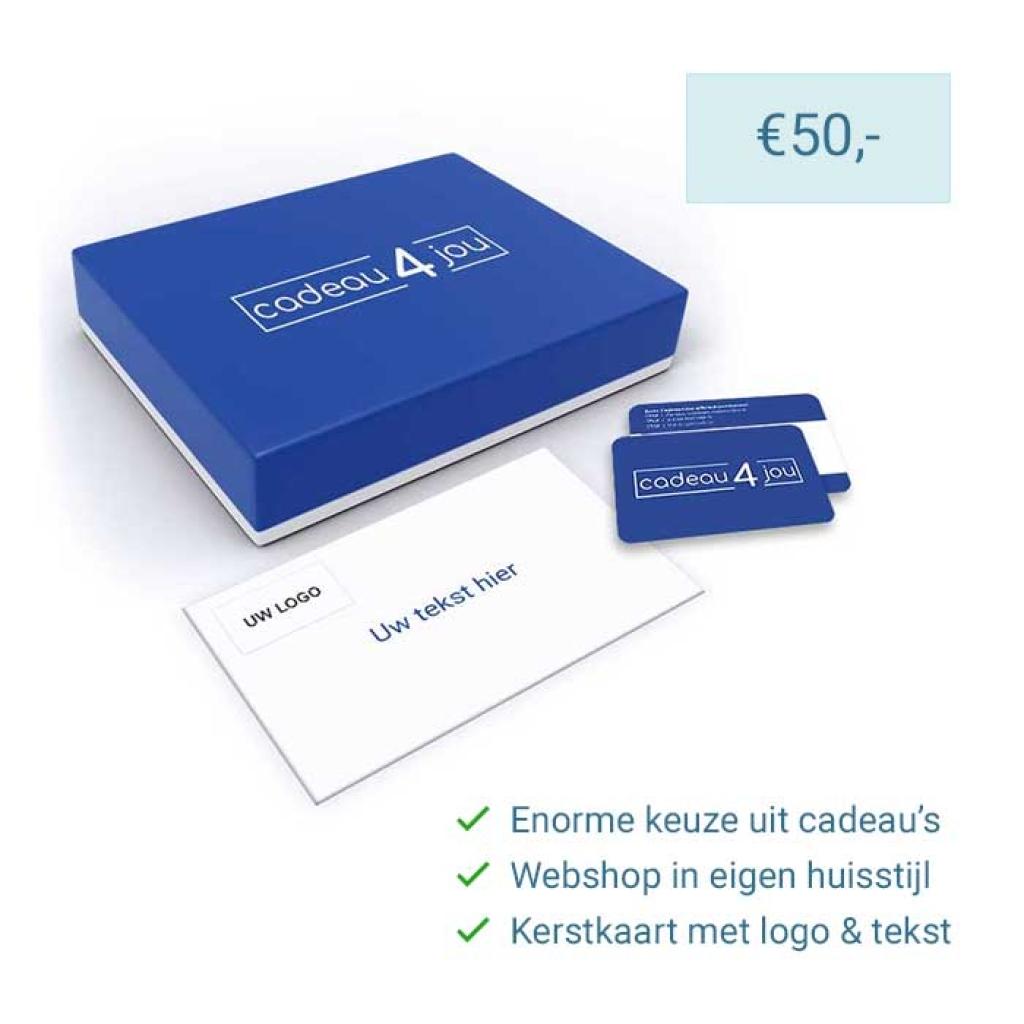 Eigen Keuze Kerstpakket 50 euro