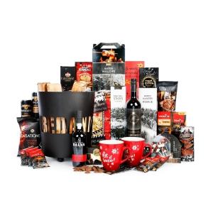Royale kerstpakketten van groot formaat