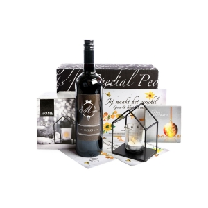 Kerstpakket met wijn voor mannen en vrouwen