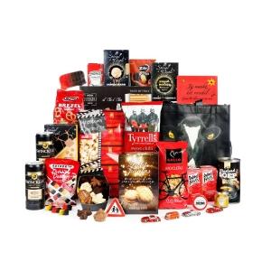 Kerstpakket met shopper tas voor het doen van boodschappen