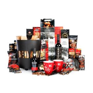 Een fraai en ludiek kerstpakket voor mannen en vrouwen