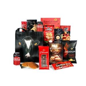 Assortiment luxe kerstpakket met exclusief thema