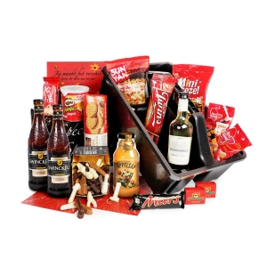 Een duurzaam kerstpakket waarbij rekening is gehouden met MVO, Eco en Fairtrade.