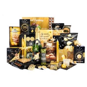 Grote foodpakketten de trend voor Kerstmis