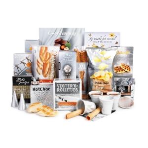 Uitgebreid aanbod zilveren kerstpakketten met thema