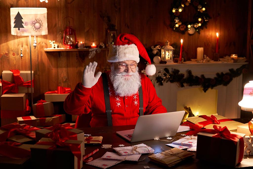 Contact opnemen met Kerstpakketten idee