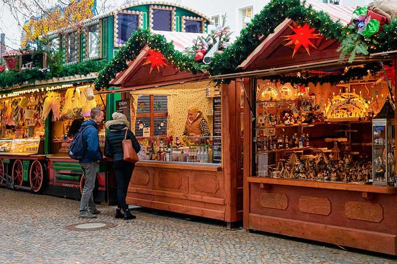 Kerstmarkt voor werknemers